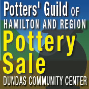 Hamilton Guild of Potters Spring Pottery Sale in Dundas