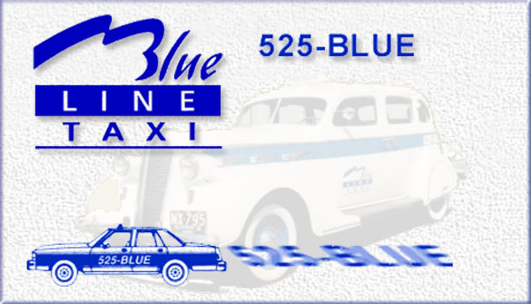 Blue Line Taxi Serving Dundas Ontario and the Greater Hamilton area